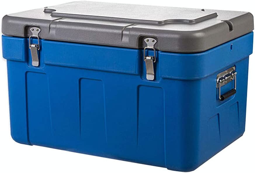 LIYANLCX - Nevera portátil con compresor para congelador, Nevera fría o Caliente, Color Azul, 65 litros de Capacidad, para Camping, caravanas, Picnic y Festivales