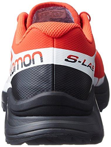Rojo Senderismo Unisex Zapatillas Salomon Racing L39121500 Adulto White Black de Red SqRYqKfwP