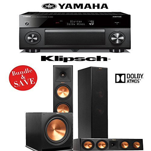 klipsch rp 280fa 3 1 dolby atmos home theater system with. Black Bedroom Furniture Sets. Home Design Ideas