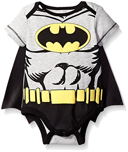 Batman Boys' Bodysuit With Cape