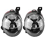 Front Bumper Fog Light Driving Lamps Replacement for VW Jetta Golf MK5 Rabbit EOS TIGUAN Caddy