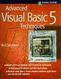 Advanced Visual Basic Techniques, Rod Stephens, 0471188816