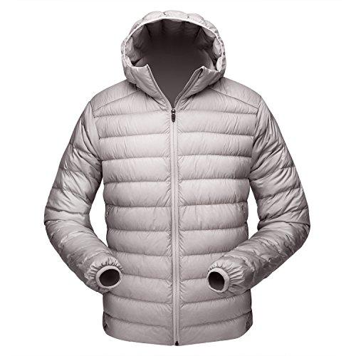 puffer jacket men hooded - 3