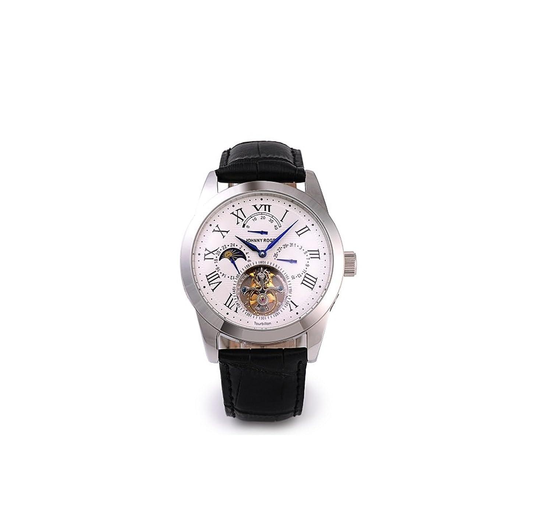 フライングトゥ-ルビヨン JOHNNYROGER メンズ パワーリザーブ 手巻き 腕時計  Roi Blue B017BPWLWQ