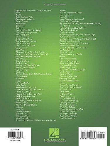 101 Movie Hits for Alto Sax