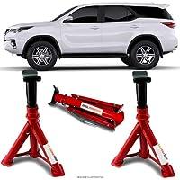 Par Cavalete Toyota Hilux SW4 Automotivo 4 Toneladas Com 3 Regulagens e Trava