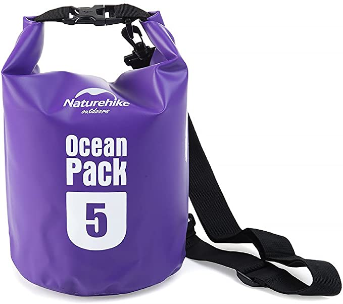 HYSENM Pack Saco – Petate Ocean Pack PVC 5L/10L/20L, Morado, Medium: Amazon.es: Deportes y aire libre