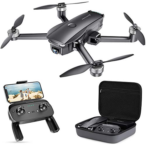 SNAPTAIN SP7100 Foldable GPS Drone with 4K HD Camera Live Video for Adults, Quadcopter with Brushless Motor, Smart…