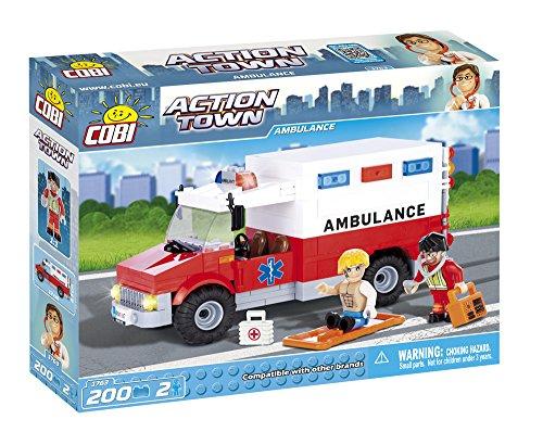 COBI-Action-Town-Ambulance-Building-Kit