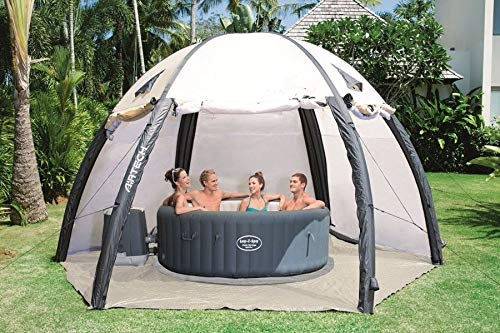 - AIR TIGHT WATERPROOF Inflatable Hot Tub Spa Dome Cover Tent Structure (20ft. diameter)