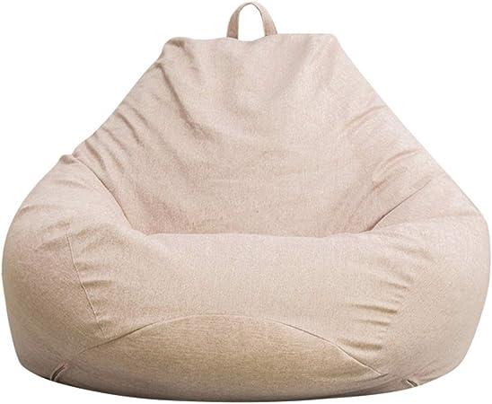 Holama Puf Clásico, Puffs Puffs para Salón Funda Elegante Cojín De Asiento Puf Sofá Cojín De Suelo para Uso Interior Y Exterior: Amazon.es: Hogar