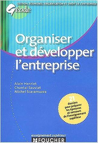 Download Géode : Organiser et développer l'entreprise pdf epub