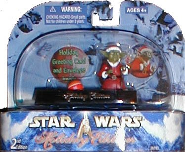 Brian's Toys Star Wars: Holiday Edition Yoda 3