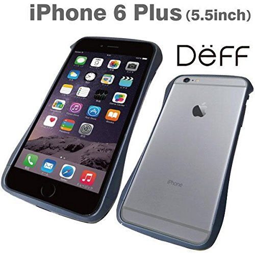 best loved 37315 155ca Deff Cleave Aluminum Sleek Bumper for iPhone 6 Plus (Midnight Blue)