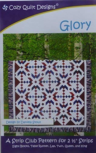 Glory Quilt Pattern By Cozy Quilt Designs