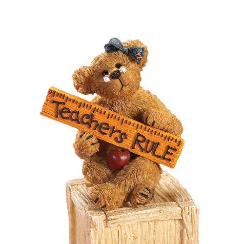 Enesco Collectible AppleBearY Teacher Figurine