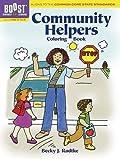 BOOST Community Helpers Coloring Book (BOOST Educational Series)
