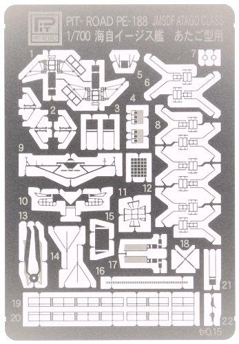 ピットロード 護衛艦 あたご用エッチングパーツ PE188