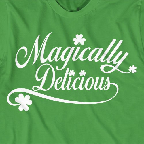 Funny St Patrick's Day Party T-Shirt - Magically Delicious, bar pub shirt, irish, beer, lucky charms