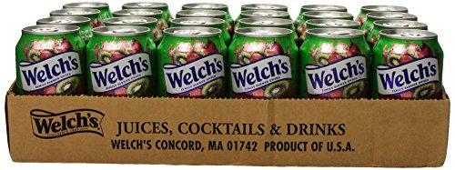 - Welch's Juice, Strawberry Kiwi, 11.5-Ounce Cans (Pack of 24)