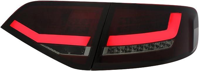 Dectane Ra14slrs Led Rear Lights Red Smoke Auto