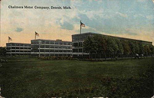 Amazon.com: Chalmers Motor Company Detroit, Michigan Original Vintage Postcard: Entertainment Collectibles