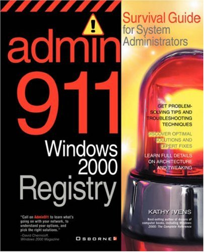 Admin911: Windows 2000 Registry by McGraw-Hill/OsborneMedia