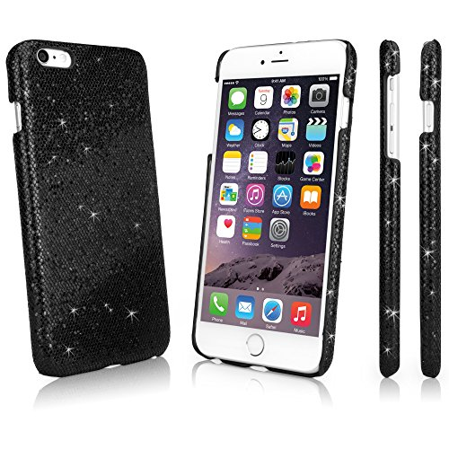 iPhone 6 Plus BoxWave Étui Glamour Glitzer &Apple iPhone 6 Plus fine à clipser Motif Sparkle pour votre Apple iPhone 6 Plus!-Apple iPhone 6 Plus Étuis et housses (Noir nacré)