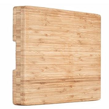 Amazon.com  Heim Concept 1 Piece Premium Butcher Large Cutting Block ... b58611005358