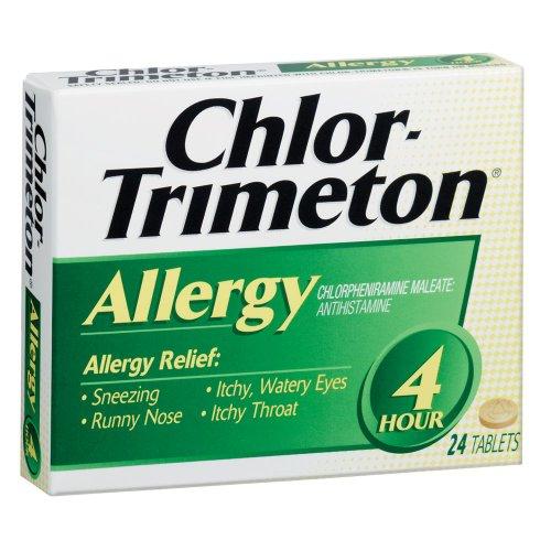 Chlor-Trimeton Allergy 4hr Tablet, 24-count Boxes (Pack of 3)
