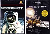 The History Channel Moonshot the Story of Apollo 11 , When We Left Earth the Nasa Missions : Landing the Eagle , the Explorers : 2 Pack