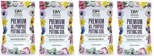 Premium All Purpose Potting Soil, 1.5 cu. ft. Bag (Fоur Paсk)