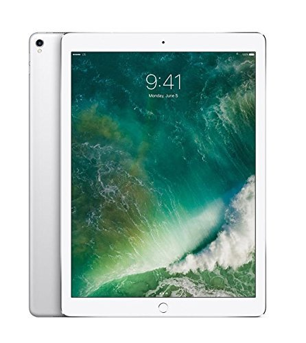 "Price comparison product image Apple 12.9"" iPad Pro (Mid 2017, 512GB, Wi-Fi + 4G LTE, Silver)"