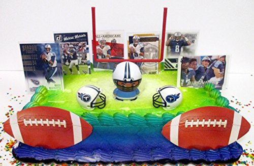 TENNESSEE TITANS Football Team Themed Birthday Cake Topper Set ()
