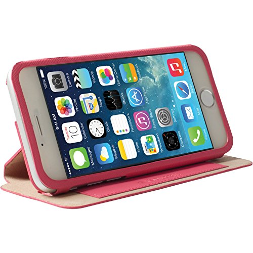 Krusell Malmö FlipCase Stand für Apple iPhone 6 11,9 cm (4,7 Zoll) pink