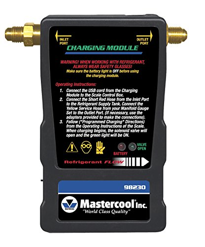 Mastercool (98230) Black Charging Solenoid Module by MASTERCOOL