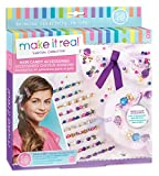 gem bows - Make It Real Hair Candy Accessories. Tween Girls Hair Accessories Kit. DIY Girls Hair Ties, Scrunchy Bow, Beaded Bobby Pins, Gems, Ribbons and More