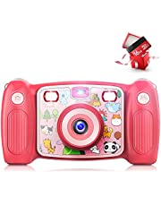 $33 » Kids Selfie Camera for Halloween Christmas Birthday for Girls,HD Digital Video Cameras for Age from 6 to 13 Year Old Boy with 16GB SD Card