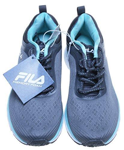 Fila Womens Memory Foam Outreach Athletic Shoe (9, Grey)