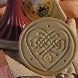 Brown Bag Celtic Knot Heart Cookie Stamp - Heart Series - Valentine's Day