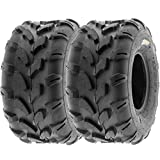 SunF 20x10-8 20x10x8 ATV UTV All Terrain Trail Replacement 6 PR Tubeless Tires A003