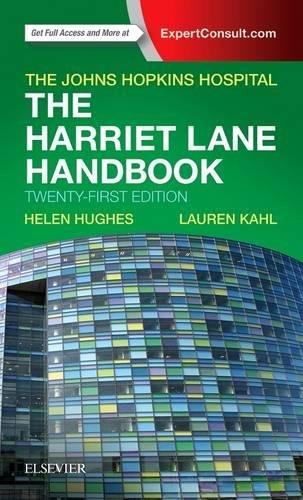 The Harriet Lane Handbook: Mobile Medicine Series, 21e cover