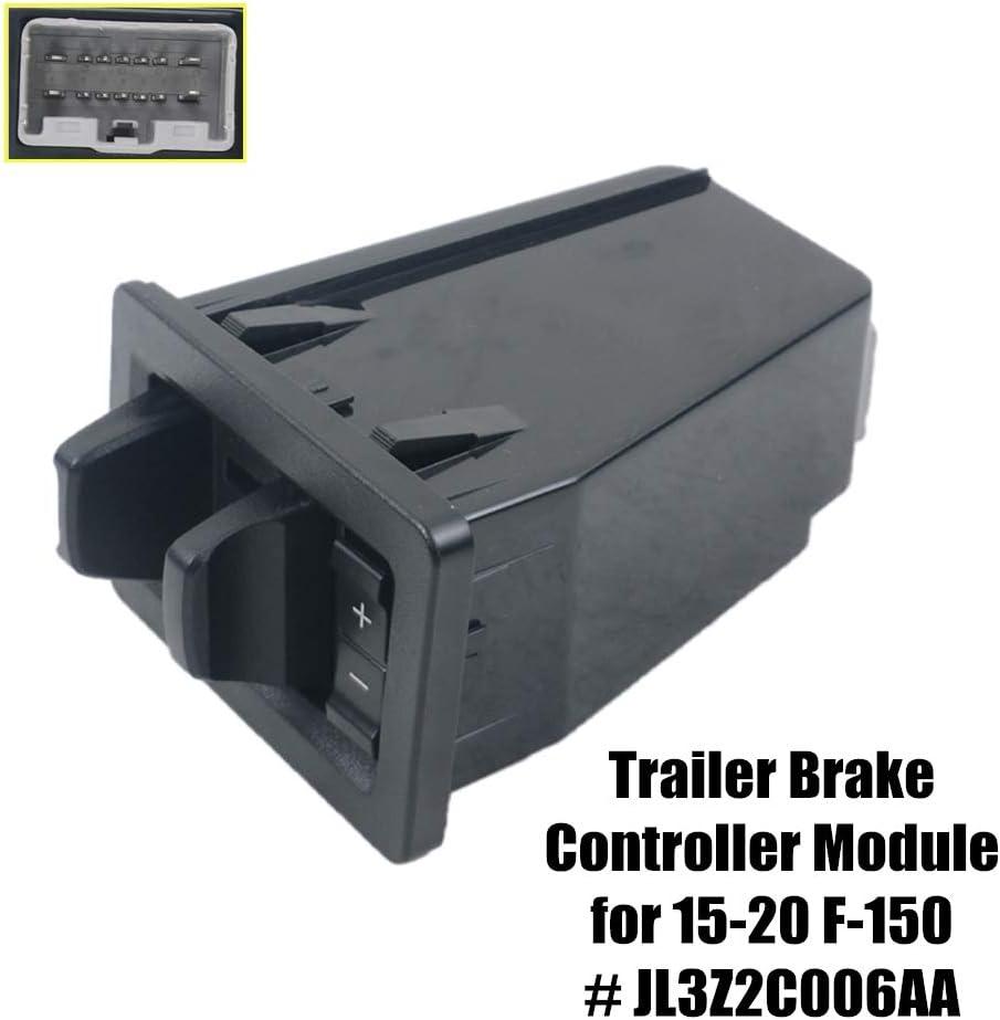 GELUOXI In-Dash Trailer Brake Controller Module JL3Z19H332AA for 15-20 Fo-rd F150 JL3Z2C006AA