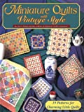 Miniature Quilts with Vintage Style