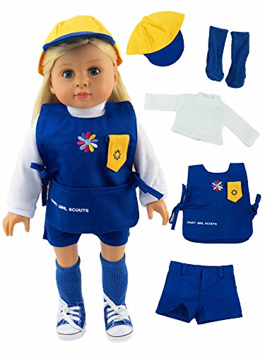 Daisy Girl Scout Outfit | Fits 18quot American Girl Dolls Made Such as American Girl Madame Alexander Our Generation etc | 18 Inch Doll Clothes |