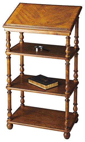 Bookshelves - Westwood Library Stand - Bookshelf - Vintage O