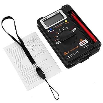 akozon digital multimeter autoranging with multimeter probes aneng