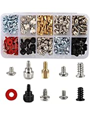 228PCS Personal Computer Screw Kit Set,Pc Case Screws,Motherboard Standoffs for Hard Drive Pc Case Motherboard Fan Power Graphics