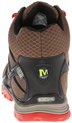メラント Verterra Mid Waterproof - Zapatillas de senderismo Hombre Stone / Lime
