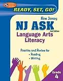 NJ ASK Grade 4 Language Arts Literacy (New Jersey ASK Test Preparation)